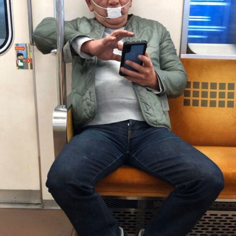 [유머] 일본의 마스크 대용품... -  와이드섬