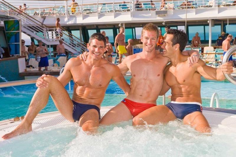 [유머] 주의!!!!!!) 미국의 동성애 크루즈 여행 -  와이드섬
